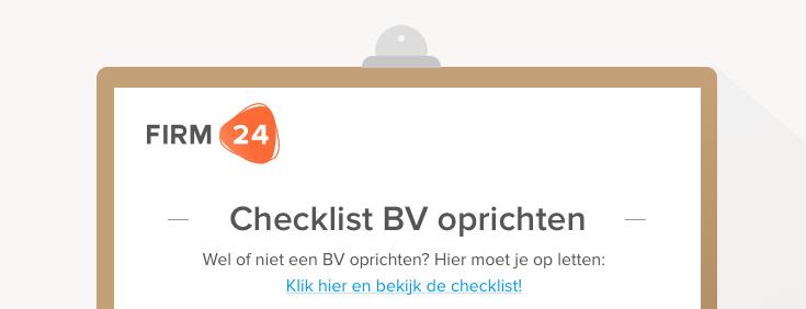 bv-oprichten