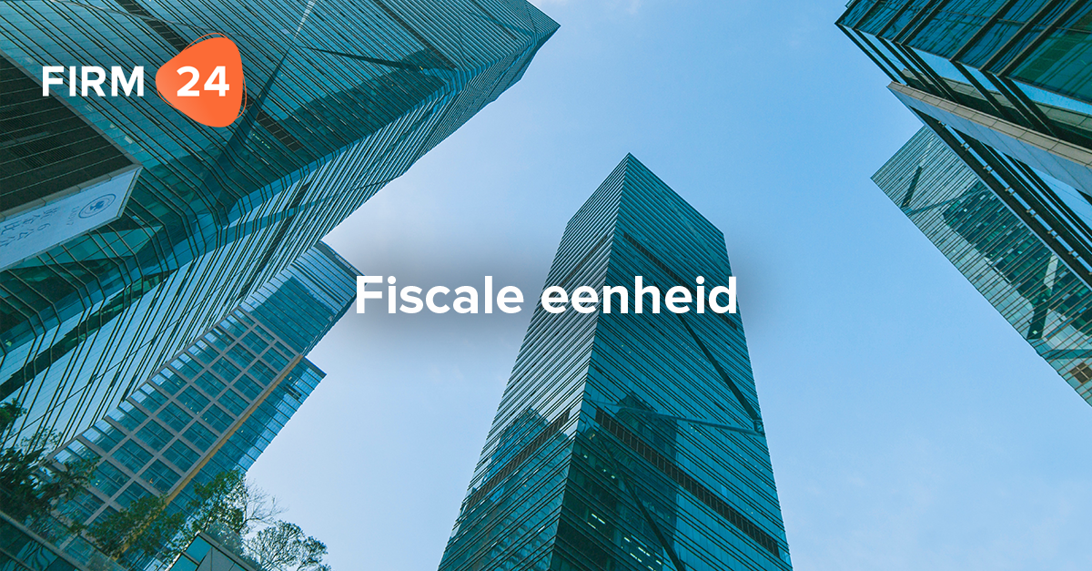 Fiscale eenheid