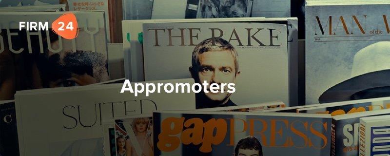Ondernemer van de maand – Appromoters
